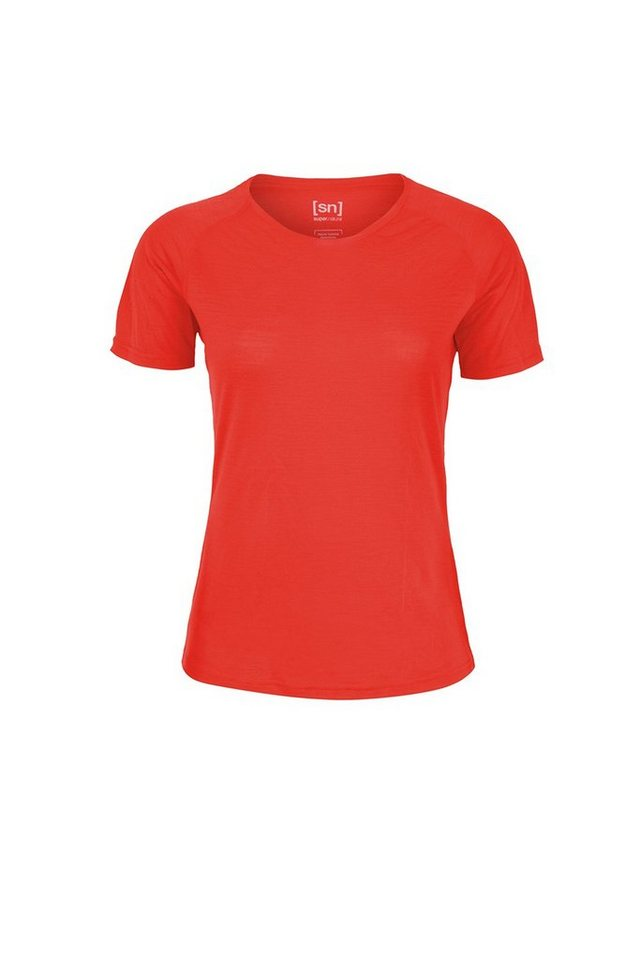 Super.Natural Merino T-Shirt »W BASE TEE 140« in WARM RED