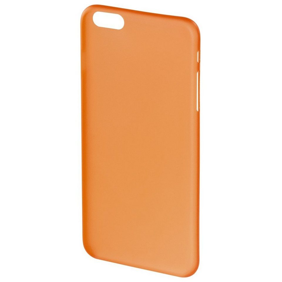 Hama Cover Ultra Slim für Apple iPhone 6 Plus/6s Plus, Orange in Orange