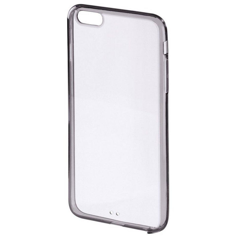 Hama Cover Frame für Apple iPhone 6 Plus/6s Plus, Schwarz in Schwarz
