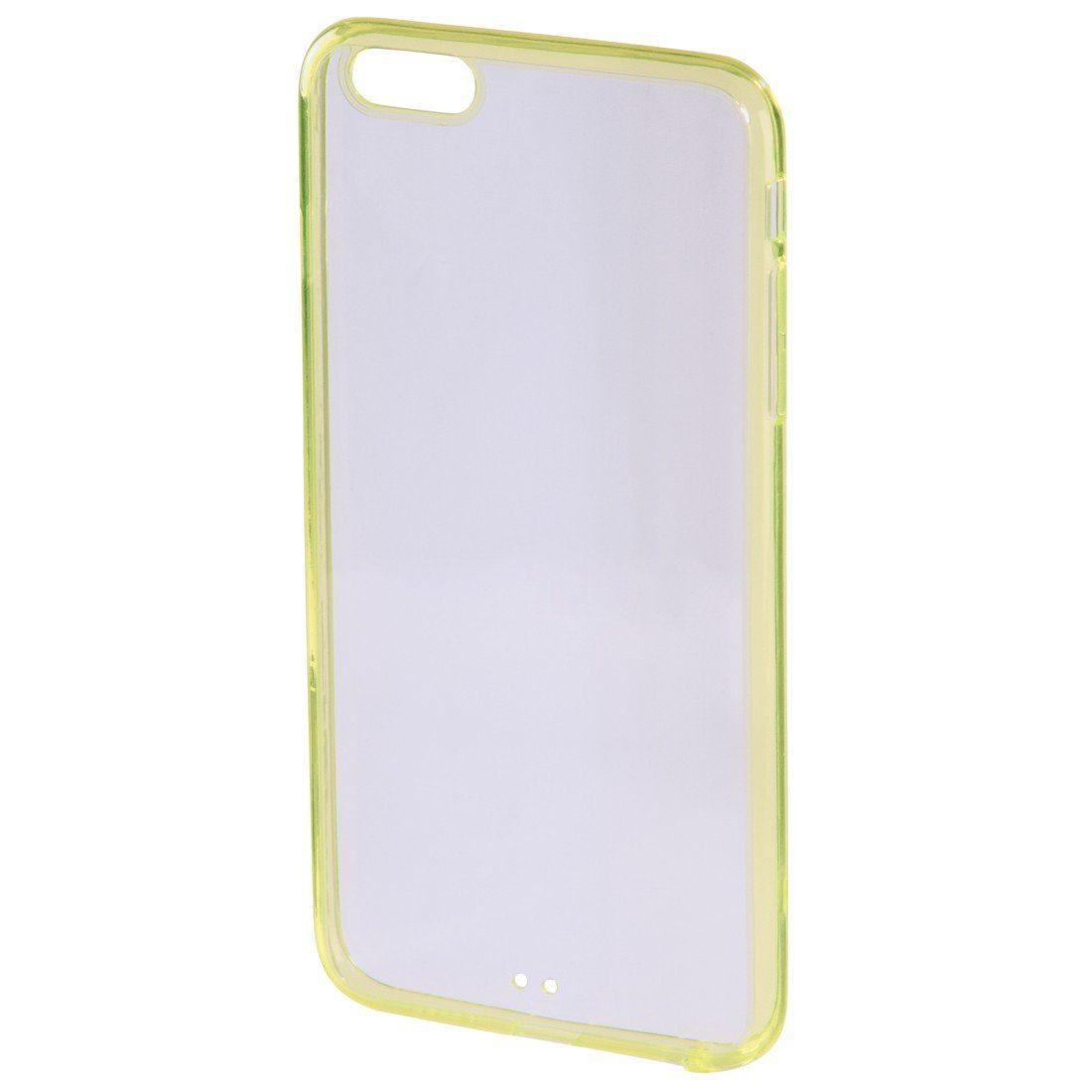 Hama Cover Frame für Apple iPhone 6 Plus/6s Plus, Gelb