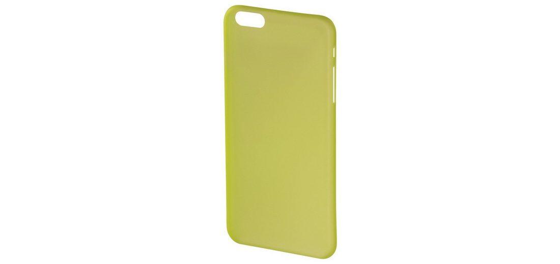 Hama Cover Ultra Slim für Apple iPhone 6 Plus/6s Plus, Gelb
