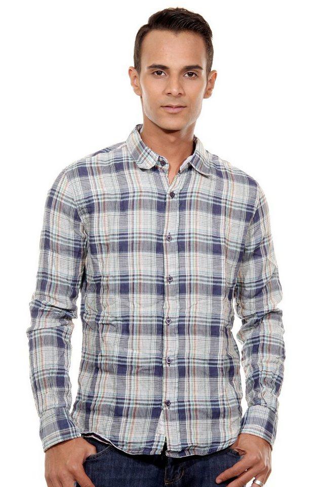 OBOY Streetwear Langarmhemd regular fit in bunt kariert