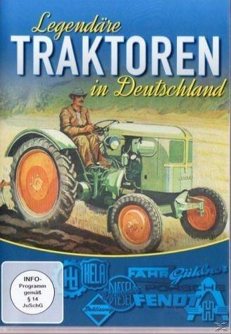 DVD »Legendäre Traktoren in Deutschland«