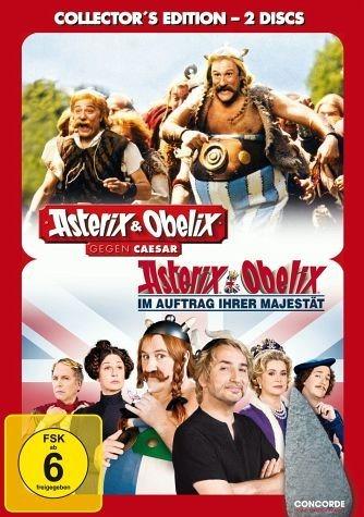 DVD »Asterix & Obelix gegen Cäsar / Asterix &...«
