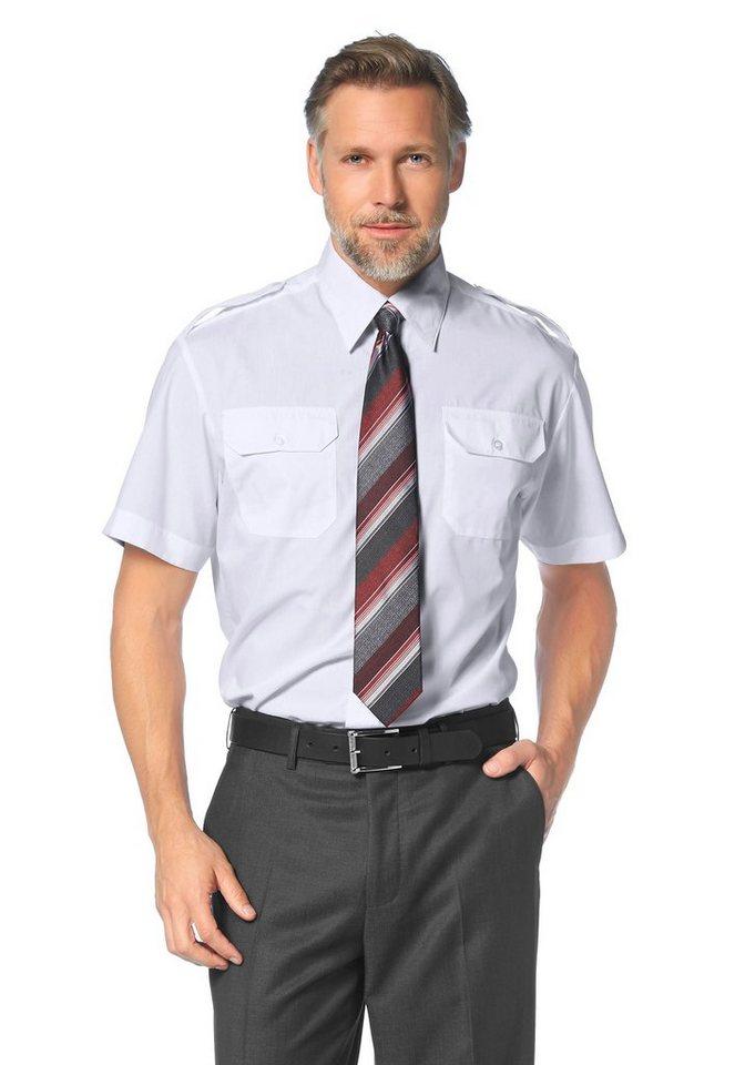 Studio Coletti Pilotenhemd Schulterklappen in weiß