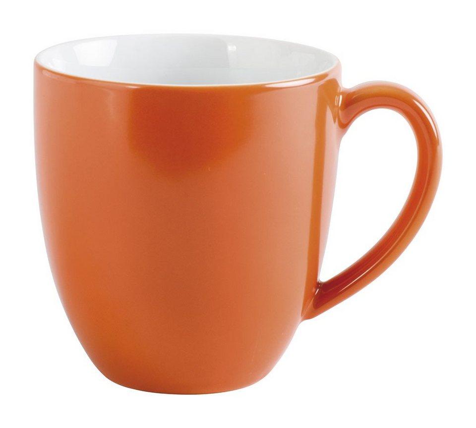 Kahla Kaffeebecher XL »Pronto Colore« in Orange