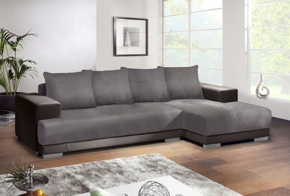 inosign polsterecke mit bettfunktion online kaufen otto. Black Bedroom Furniture Sets. Home Design Ideas