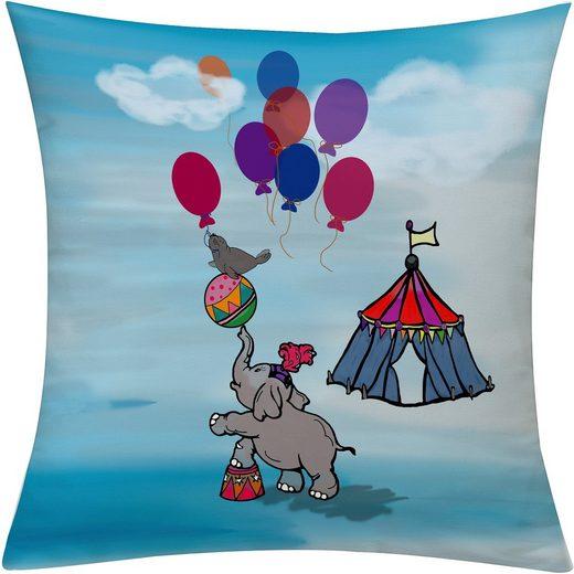 emotion textiles Kissenhülle »Zirkus«