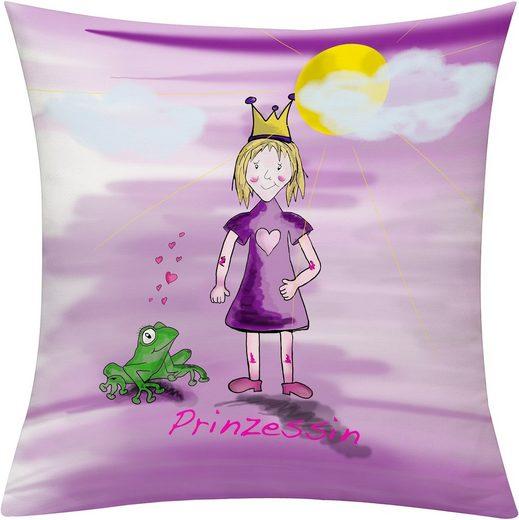 emotion textiles Kissenhülle »Prinzessin Tag«