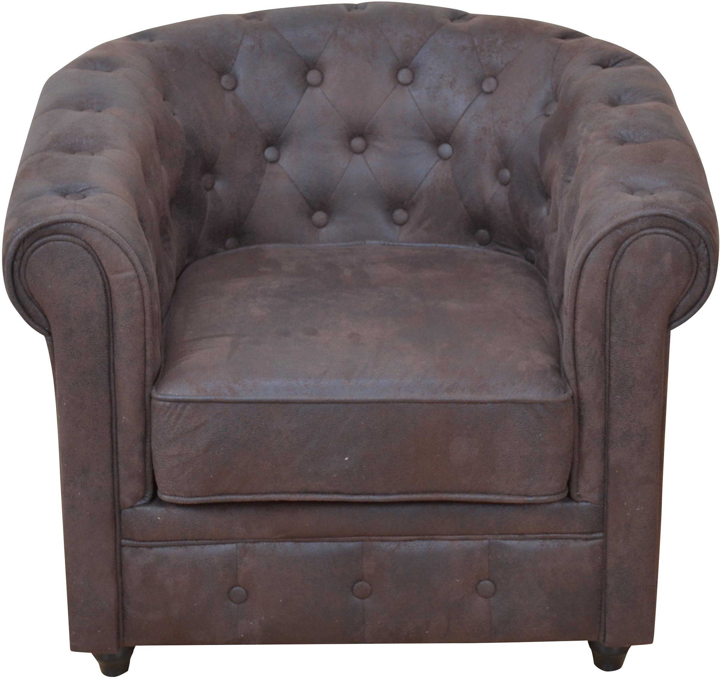 Home affaire, Sessel, mit Chesterfield Knopfsteppung