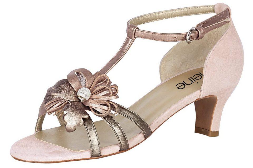 Sandalette in rosé/taupe