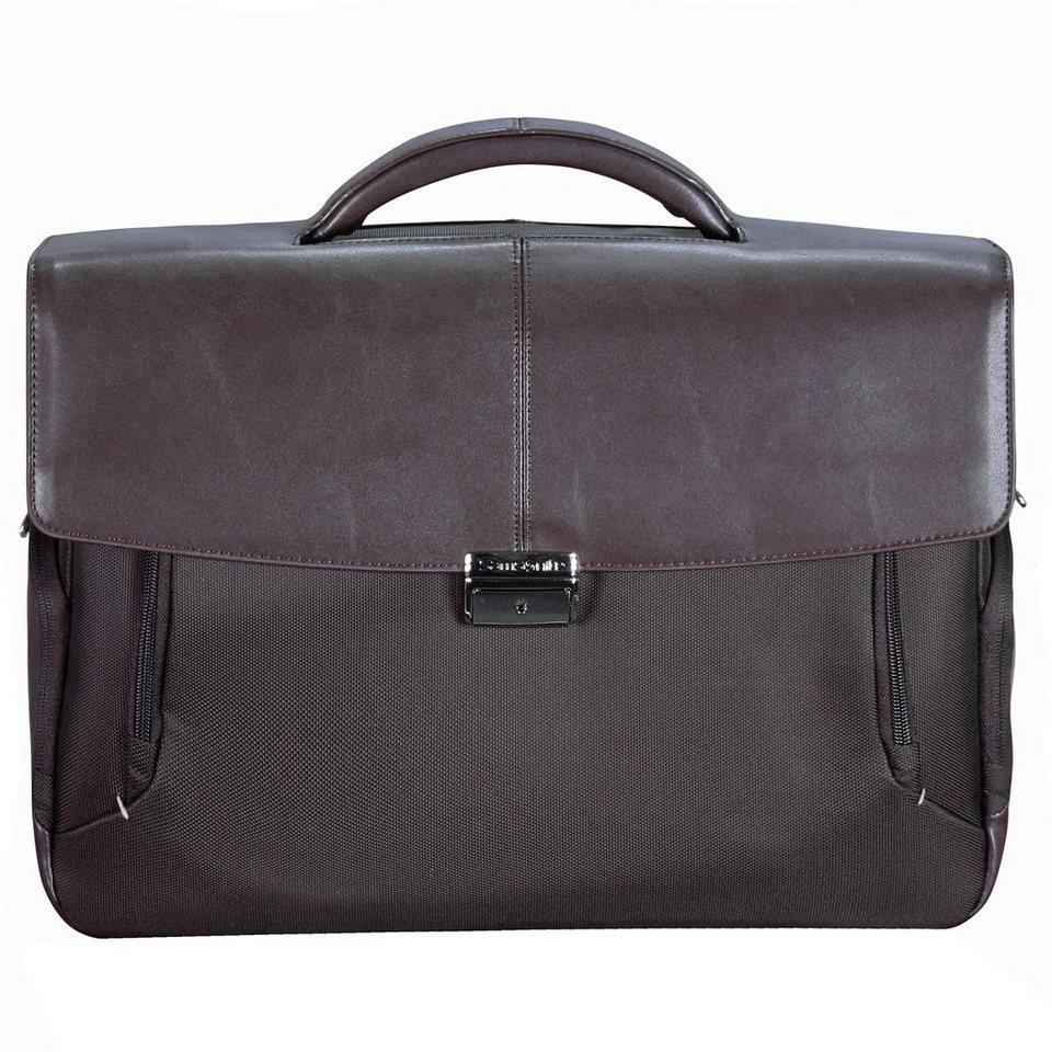 Samsonite Fits-U Aktentasche 41 cm Laptopfach in dark brown