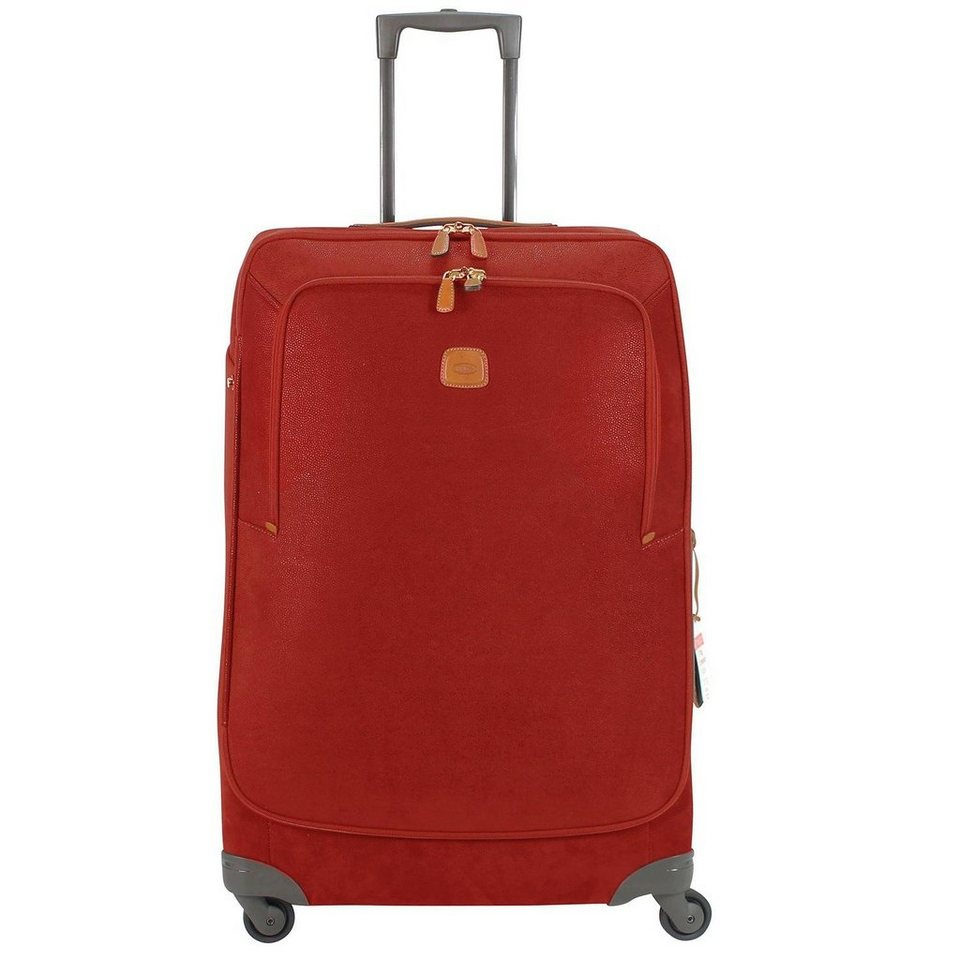 Bric's Life Trolley Spinner 4-Rollen 82 cm in red