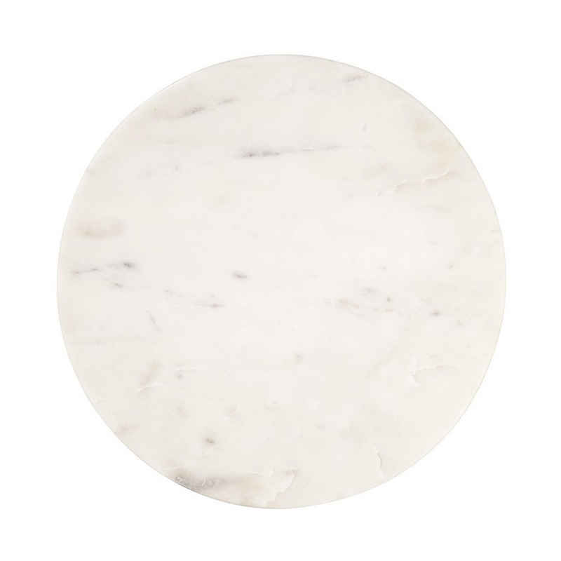 BUTLERS Tablett »MARBLE Marmorplatte Ø30cm«, Marmor