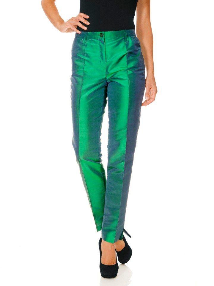 PATRIZIA DINI by Heine 7/8-Seidenhose in smaragd