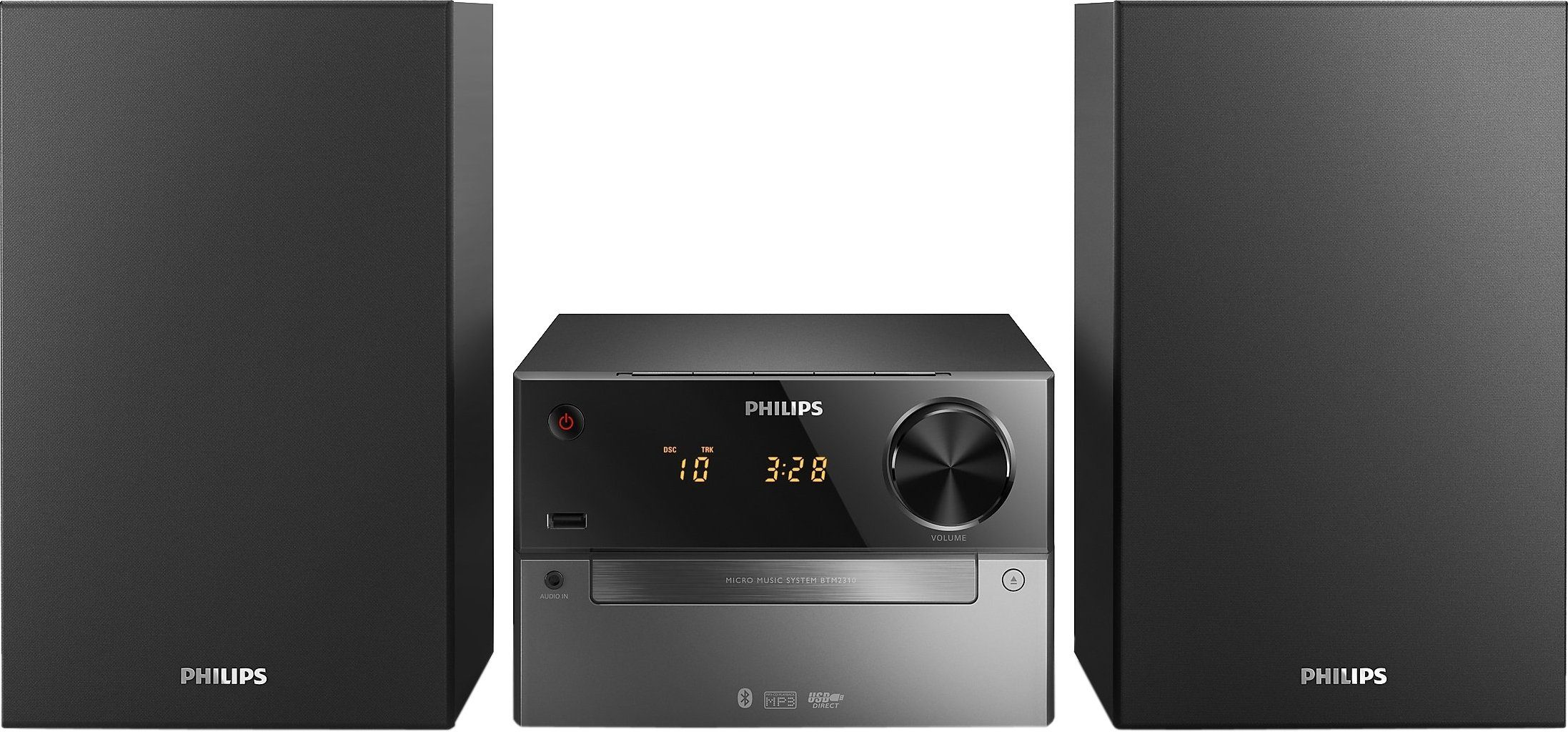 Philips BTM2310 Microanlage, Bluetooth, 1x USB