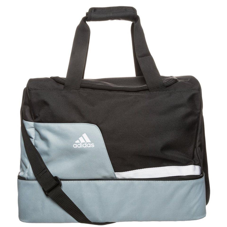 adidas Performance Tiro Team Bag Bottom Compartment S Fußballtasche in schwarz / silber