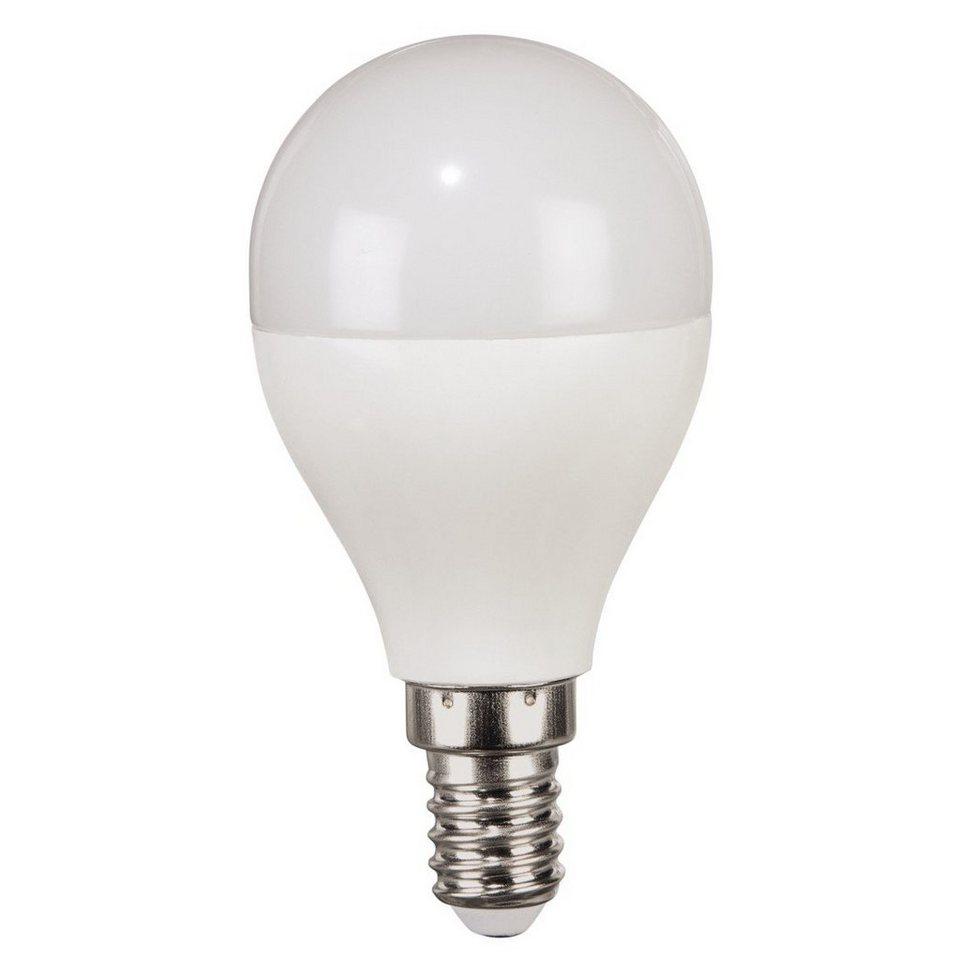 Xavax High Line LED-Lampe, 6,9W, Tropfenform, E14, Warmweiß, RA90 in Weiss