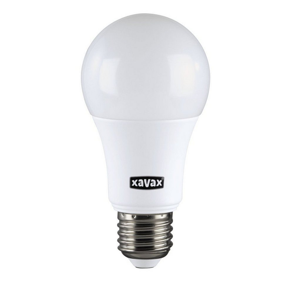 Xavax High Line LED-Lampe, 9,2W, Glühlampenform, E27, Warmweiß, RA90 in Weiss