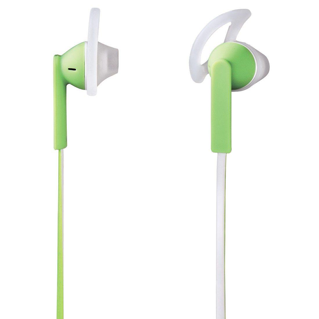 Hama Stereo-Ohrhörer Joy Sport, Grün/Weiß