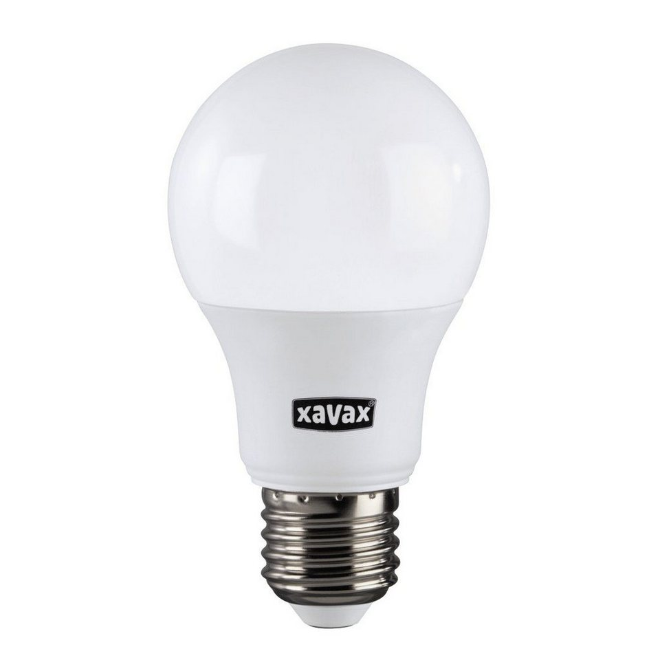 Xavax High Line LED-Lampe, 6,5W, Glühlampenform, E27, Warmweiß, RA90 in Weiss