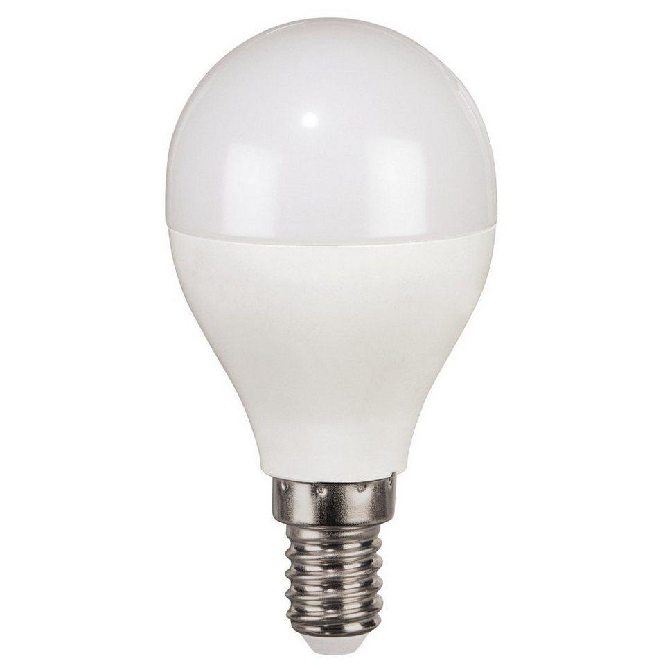 Xavax LED-Lampe, 5,5W, Tropfenform, E14, Tageslicht in Weiss
