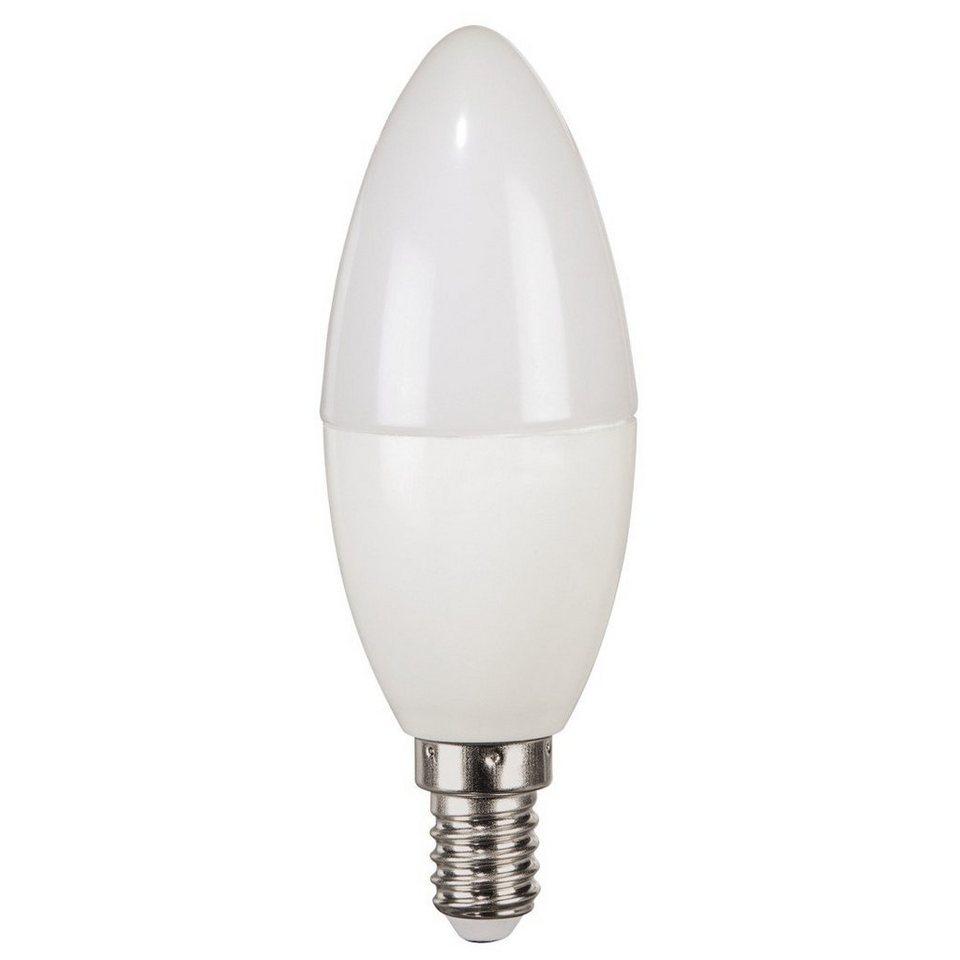 Xavax High Line LED-Lampe, 6,9W, Kerzenform, E14, Warmweiß, RA90 in Weiss