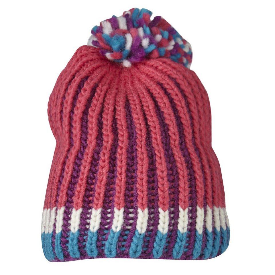 LEGO Wear Strickmütze Skimütze mit Bommel LEGO® TEC Hut Ski Mütze gestreif in pink