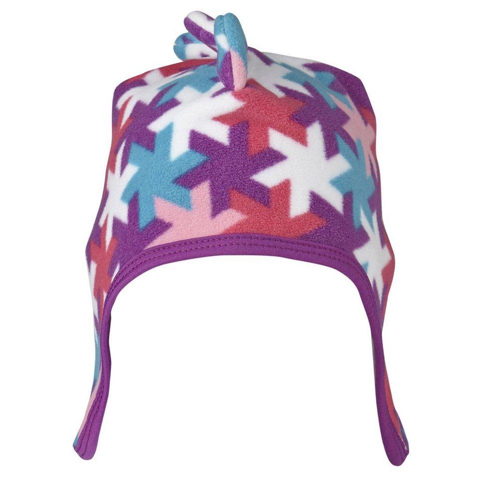 """LEGO Wear Fleece Mütze Kappe Skimütze LEGO® TEC ASKE Hut """"Snowflakes"""" Ohre in violett"""