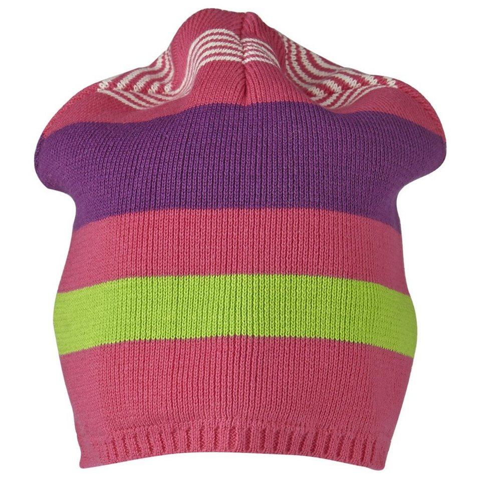 LEGO Wear Fleecemütze LEGO® TEC Hut Ski Mütze lang STRIPES in pink