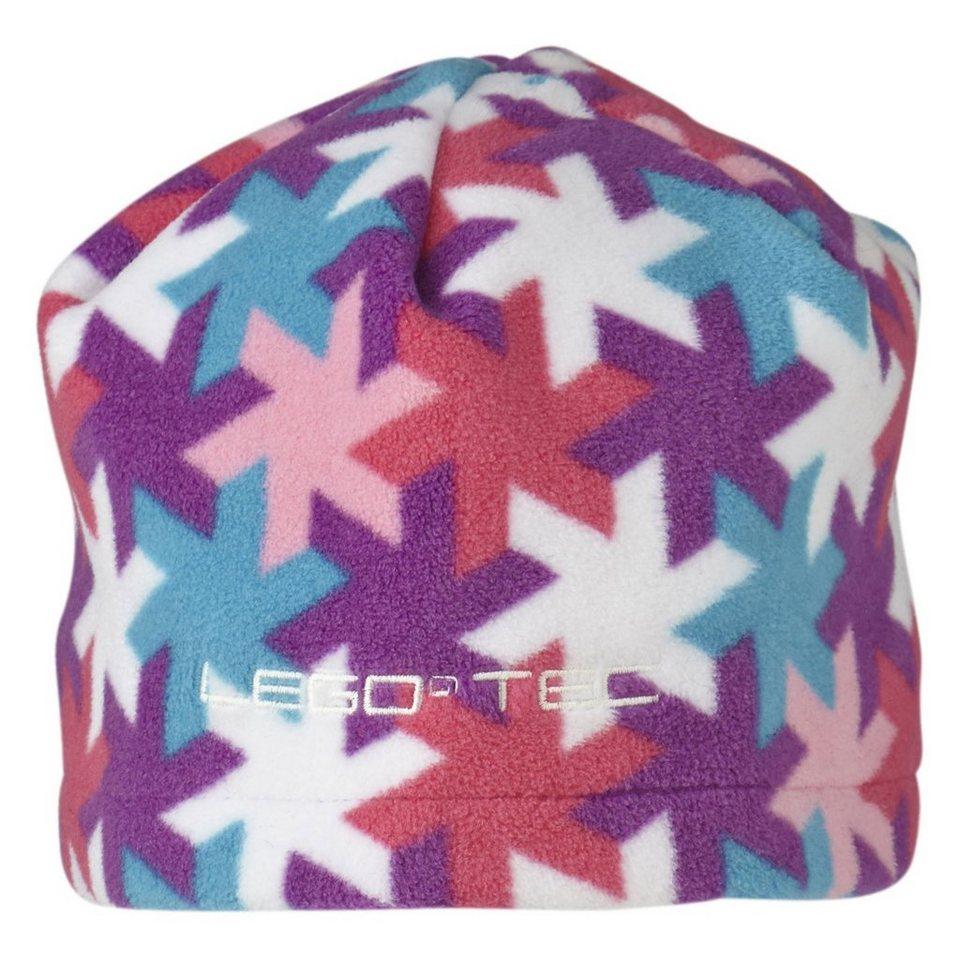 LEGO Wear Fleecemütze LEGO® TEC Hut Ski Mütze Snowflakes in violett