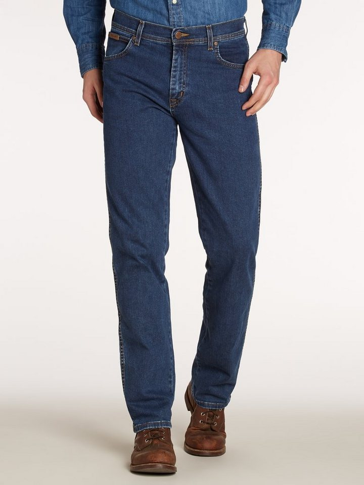 Wrangler Jeans »TEXAS STRETCH DARKSTONE« in DARKSTONE