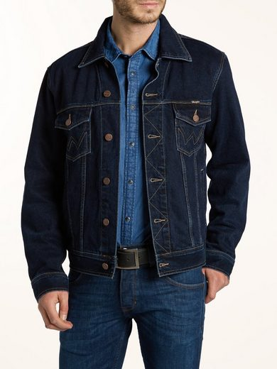 Wrangler Outdoorjacken AUTH WESTERN JACKET BLUE BLACK