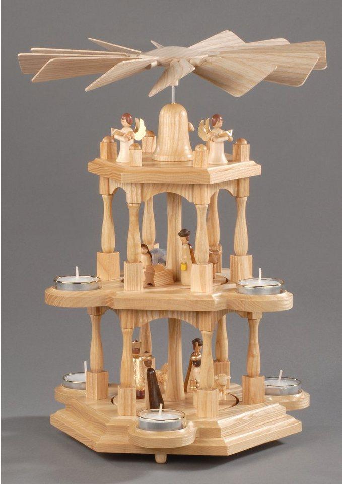 weihnachts pyramide natur albin prei ler kaufen otto. Black Bedroom Furniture Sets. Home Design Ideas