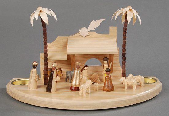 Albin Preissler Teelichthalter »Christi Geburt«