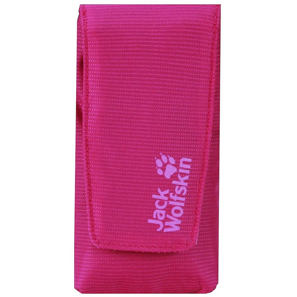Jack Wolfskin Travel Accessories Phone Cache Handyhülle 5,5 cm in pink passion