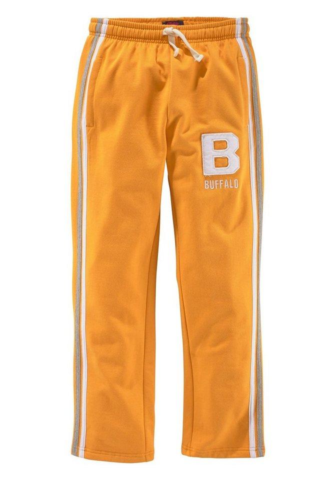 Buffalo Sweathose, für Jungen in Orange