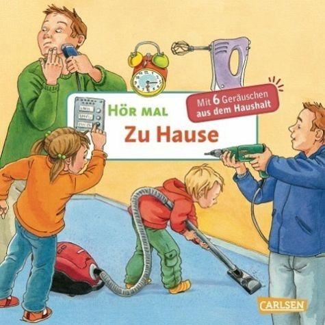 Buch mit Papp-Einband »Zu Hause / Hör mal Bd.13«