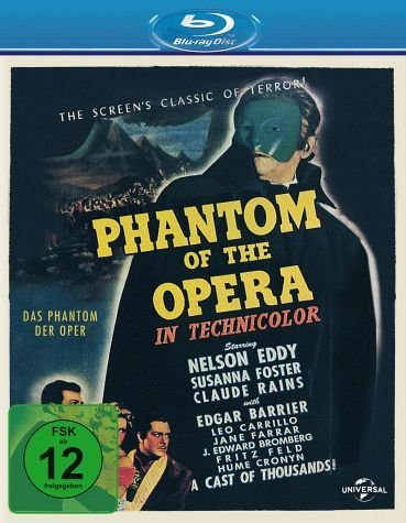 Blu-ray »Phantom of the Opera«