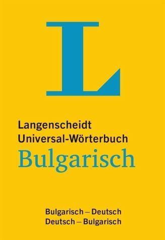 Buch mit Kunststoff-Einband »Langenscheidt Universal-Wörterbuch Bulgarisch«