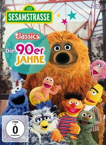 DVD »Sesamstraße Classics - Die 90er Jahre (2 Discs)«