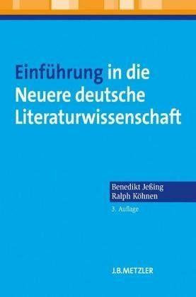 Broschiertes Buch »Einführung in die Neuere deutsche...«