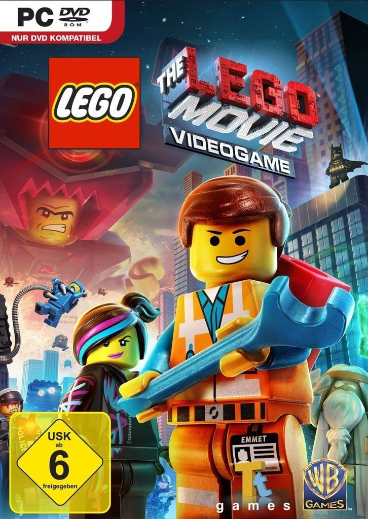 Warner Games PC - Spiel »LEGO The Movie Videogame«