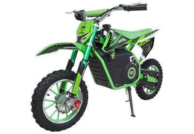 Actionbikes Motors Dirt-Bike »Viper«, 3 Gang, 3 Geschwindigkeitsstufen, Starker 1000 Watt Elektromotor, Bis 15 Km Reichweite