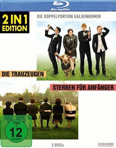 Blu-ray »Die Trauzeugen / Sterben für Anfänger«
