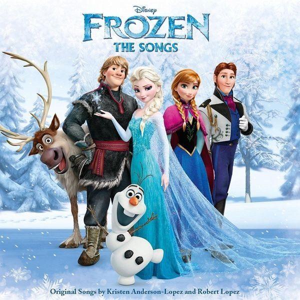 Audio CD »Diverse: Frozen (Die Eiskönigin): The...«