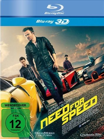 Blu-ray »Need for Speed 3D«