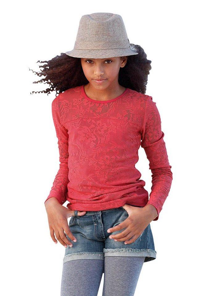 CFL Shirt, für Mädchen in Koralle