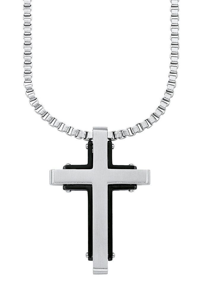 Kette mit Anhänger »Kreuz«, »9076956«, s.Oliver