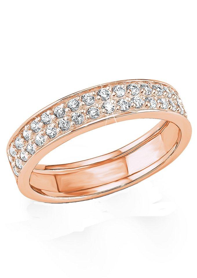 Ring, »9080694«, s.Oliver in Silber 925/roségoldfarben